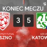 GI Malepszy Futsal Leszno – AZS UŚ Katowice 3:5 (2:2)