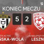 Gatta Active Zduńska Wola – GI Malepszy Futsal Leszno na żywo od 17.50
